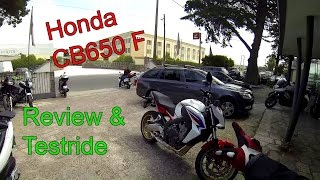 Honda CB650F Review & Testride!