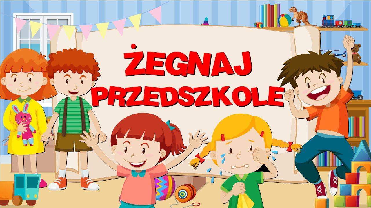 Pożegnanie przedszkola wiersze, wierszyki z animacją 🧒🎓 - YouTube