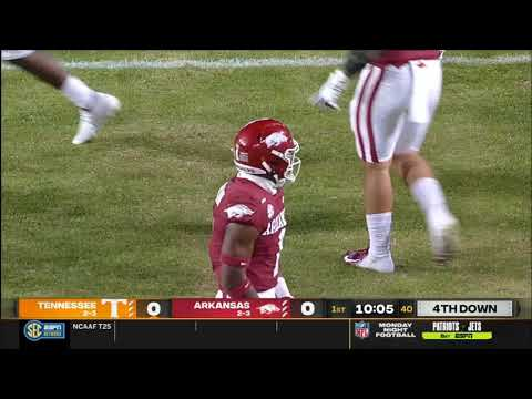 Arkansas vs. Tennessee 2020