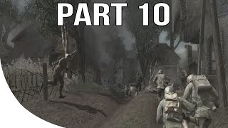 Call of Duty 3 Gameplay Walkthrough Part 10 - No Commentary Let