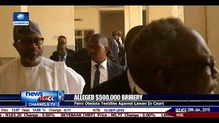 Alleged Bribery: Femi Otedola Testifies Against Lawan In Court