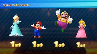 Mario Party 10 - Coin Challenge | Rosalina vs Mario vs Wario vs Peach (Master CPU)#92 MARIO CRAZY