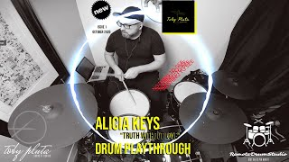 """Truth Without Love"" Alicia Keys Drum Remix"