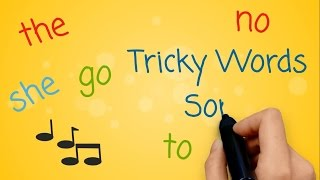 Repeat youtube video Tricky Words and Sight Words Song
