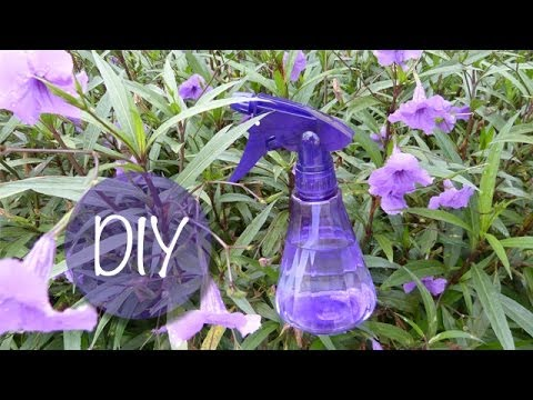 How to Make Lavender Linen Spray - YouTube