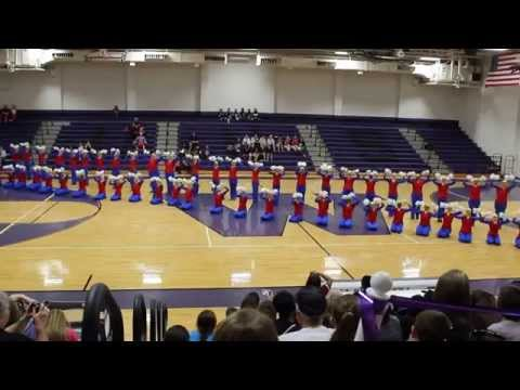 Conroe Golden Girls 2015 Competition Pom...