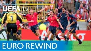 EURO 2000 highlights: Yugoslavia 3-4 Spain