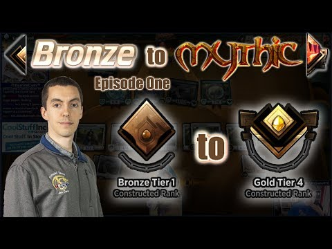 MTG Arena: Constructed Bronze To Mythic - Episode One - Bronze Tier 1 To Gold Tier 4