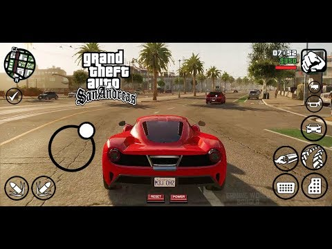 HD ENB Graphic Mod In Android | High Quality Modpack | GTA Sa Android