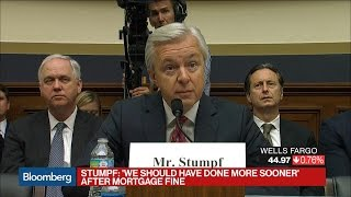 Wells Fargo CEO: 'We Should Have Done More Sooner'