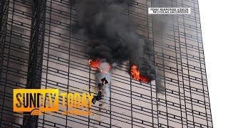 Fire At Trump Tower Leaves 1 Dead, 6 Firefighters Injured | Sunday TODAY