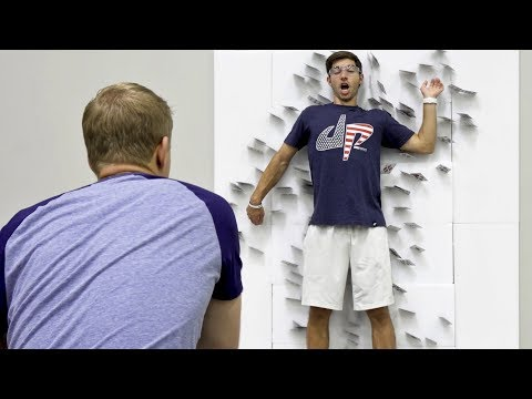 Thumbnail: Card Throwing Trick Shots | Dude Perfect
