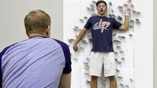 Card Throwing Trick Shots | Dude Perfect thumbnail