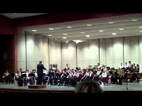 Norfolk Senior High School Symphonic Band at 2012 District Music Contest