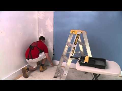 How To Hang Wallpaper - DIY At Bunnings