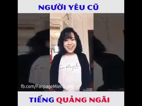 Girl xinh Cover NGƯỜI YÊU CŨ bằng tiếng Quảng Ngãi.