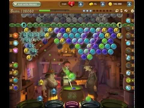 Bubble Witch Saga Level 510