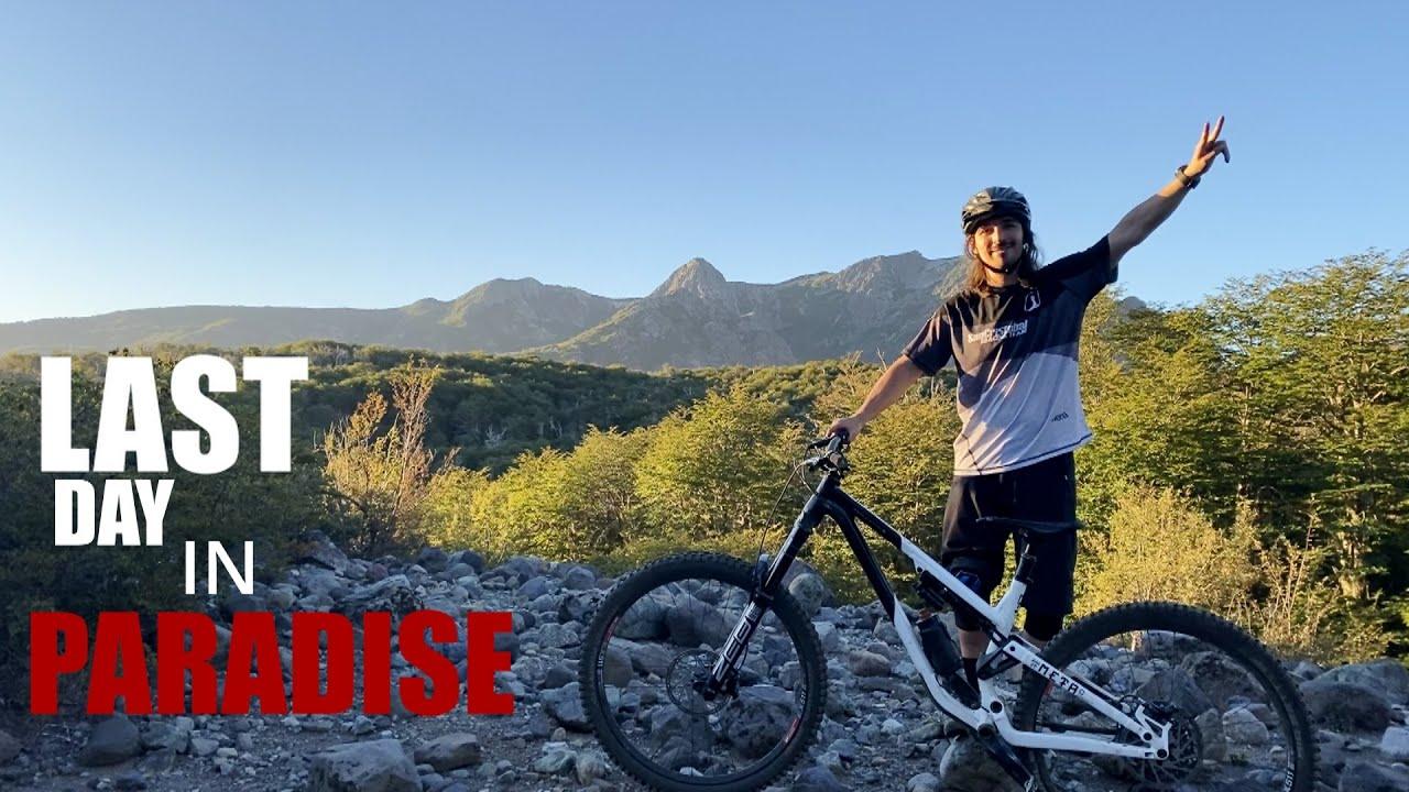 NUEVOS SENDEROS DE BICICLETA EN CHILLAN - LAST DAY IN PARADISE 😱 - PALO HUACHO - EMR