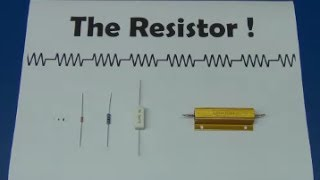 What is a Resistor ? (Tutorial) - Ec-Projects
