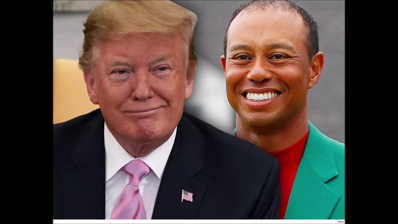 Trump To Award Tiger Woods The Presidential Medal Of Freedom
