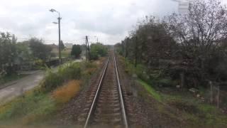 Vlak v čele HDV 750 201 cabview