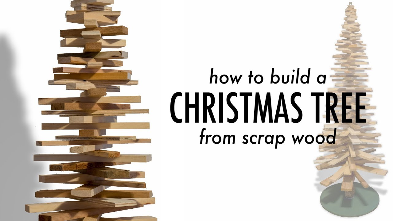 DIY Wooden Christmas Tree - YouTube