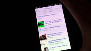 Yahoo News - Android App Review and Demo