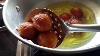 Bread Gulab Jamun Recipe - How to make Gulab Jamun from bread.