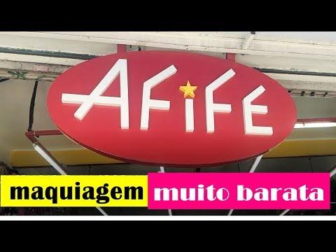 TOUR AFIFE PARTE 2 MAQUIAGEM BARATA NA 25 DE MARÇO