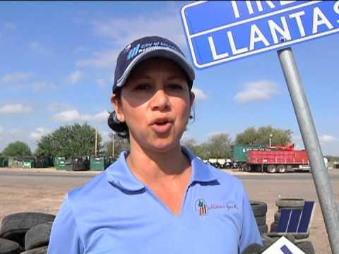 Tire Recycling McAllen,TX.