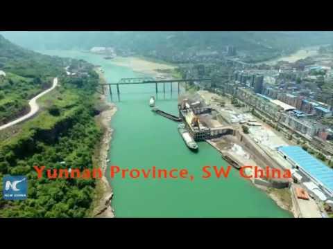 Magnificent ancient buildings along China's longest river