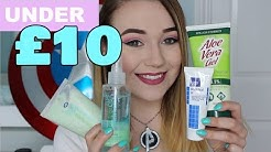 Best Acne Curing products under £10!!