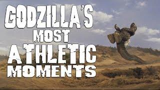 Godzilla's Most Athletic Moments