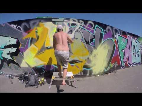 Graffiti - Ghost EA & CRZ Crew - RoadSiders