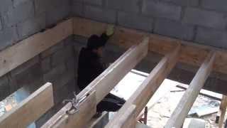 Пол ( деревянные балки перекрытия )(, 2013-11-21T09:30:12.000Z)