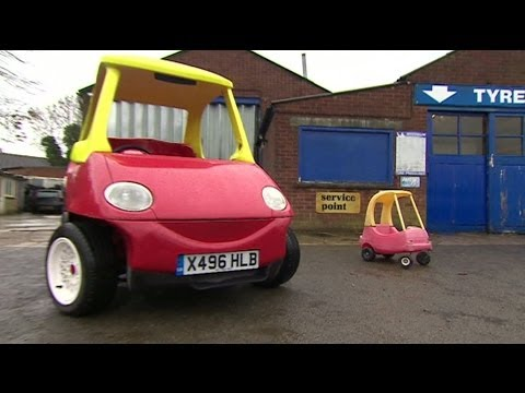 You could own a street-legal version of the Little Tikes car