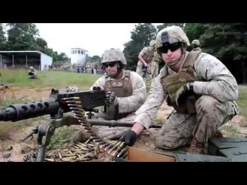 U.S. Marine Corps Crew Served Weapons Training