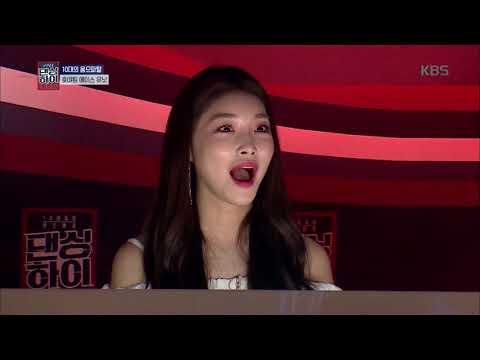 댄싱하이 - 에이스 무대 다운 퀄리티! 지성, 윤준의 에이스 무대! 20180928