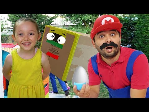 Öykü Pretend Play with Egg and Hide and Seek - Funny Oyuncak Avı