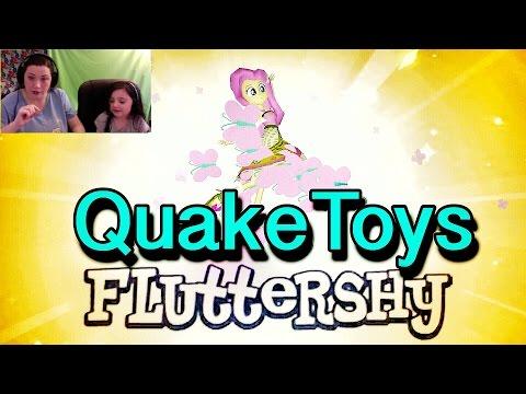 Equestria Girls My Little Pony App Legend Everfree Fluttershy Pinkie Pie Slumber Party QuakeToys MLP