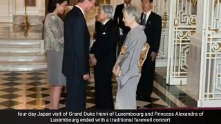 Last day - Duke Henri and Princess Alexandra's visit to Japan