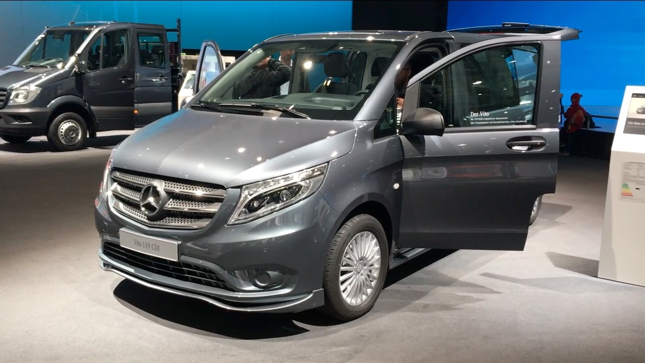 mercedes benz vito 119 cdi 2017 in detail review walkaround interior exterior youtube. Black Bedroom Furniture Sets. Home Design Ideas