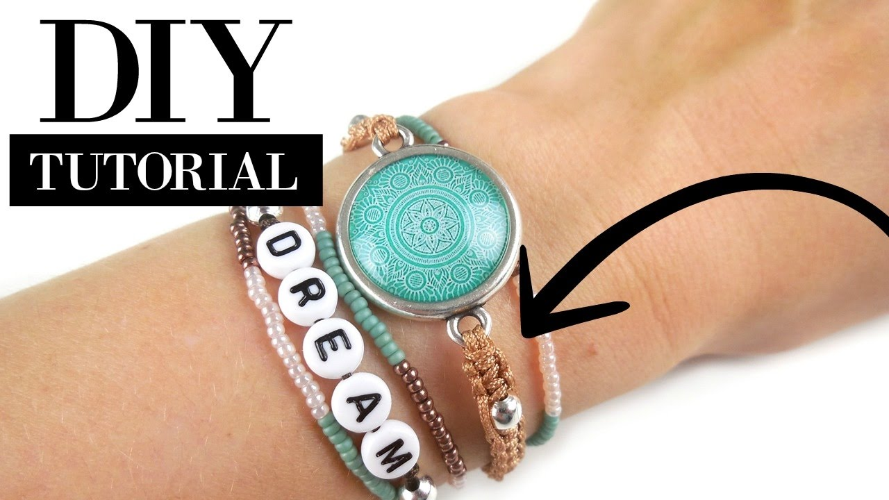 Hoe Maak Je Een Macramé Armbandje Video Workshop Materialen Youtube