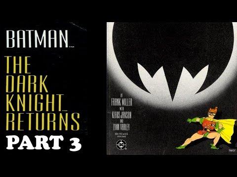 Batman Dark Knight Returns Issue 3, Kayfabe Commentary