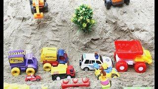 Toy Autos For Children | Excavator Dump Truck Street Roller Development Vehicles Toys for Kids