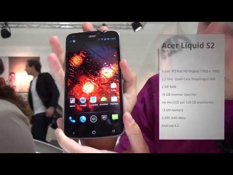 Acer Liquid S2 - Hands-On - IFA 2013 - androidnext.de