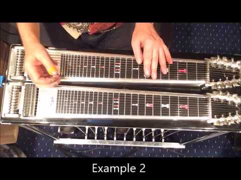 Playing 2 5 1 Chord Voicings On C6 Pedal Steel Guitar Jim Cohen