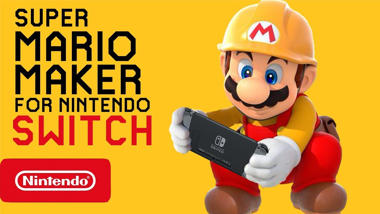 Super Mario Maker for Nintendo Switch