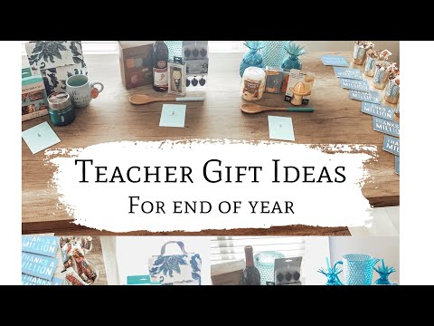 Teacher Gift Ideas || for end of the year