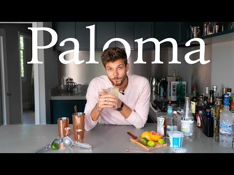 HOW TO MAKE A PALOMA  TFIFRIDAY